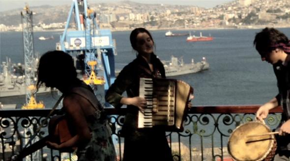 Temporary Valparaíso: el puerto