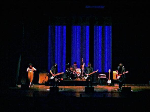 The Ganjas en el Centro GAM