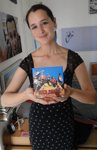 """Pascuala y su disco """"Busco paraíso"""""""
